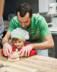 Mentoring in the bakery helped the children become more aware of their amazing potential.